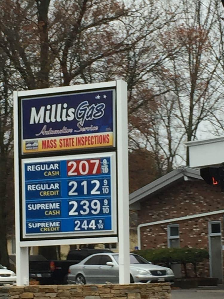 Millis Gas & Automotive Service: 860 Main St, Millis, MA