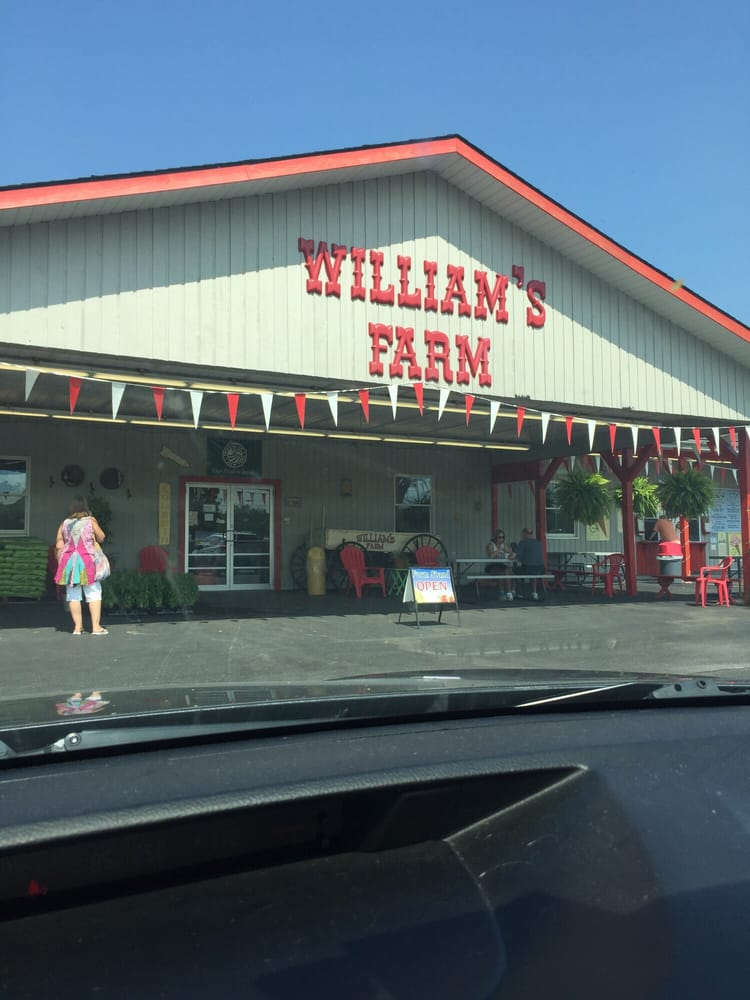 Williams Farm Stand: 8448 Whiting Rd, Cicero, NY