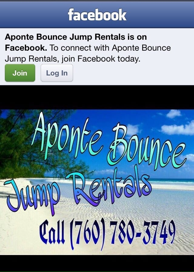 Aponte Bounce Jump Rentals: 22935 Standing Rock Ave, Apple Valley, CA