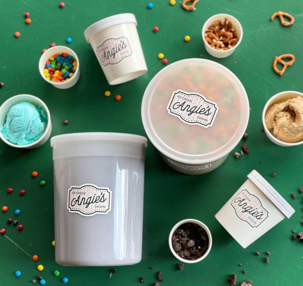 Angie's Ice Cream Shoppe: 172 Main St, Dansville, NY