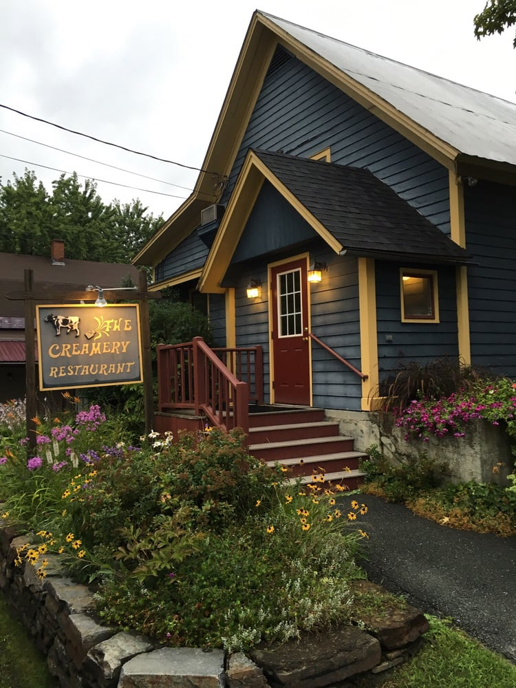 Creamery Restaurant: 46 Hill St, Danville, VT