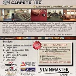 Carpets Inc Floor Matttroy