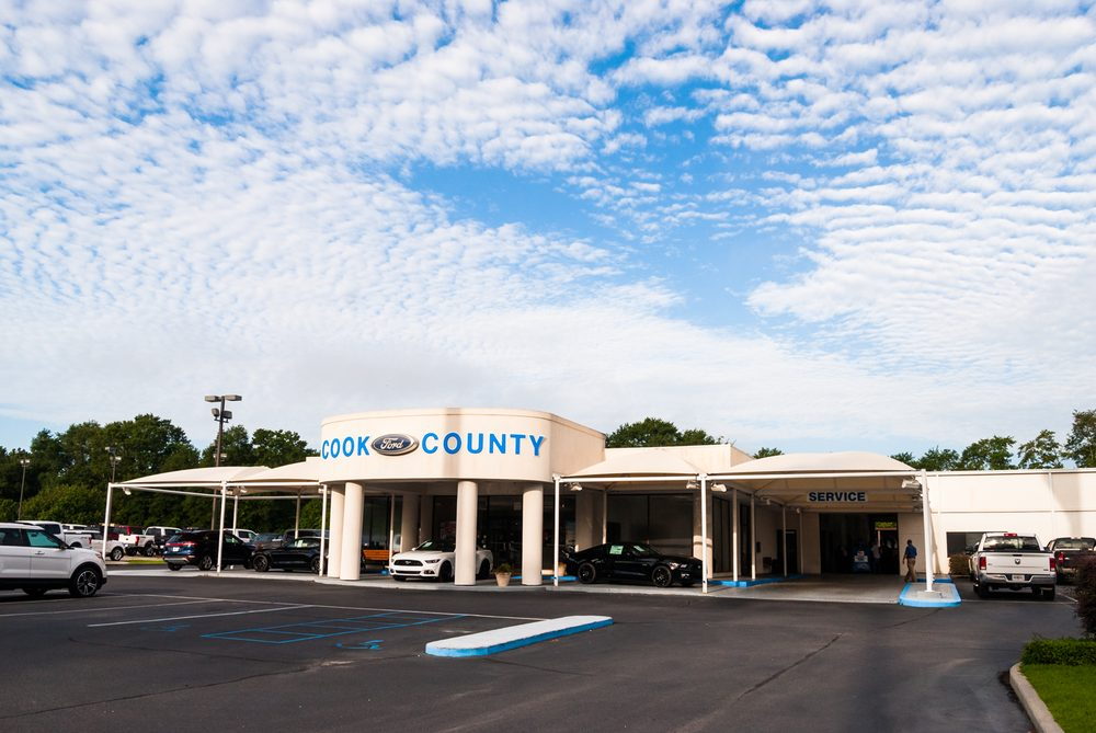 Cook County Ford: 1000 S Hutchinson Ave, Adel, GA