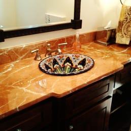 Photo Of Granite Countertops Dallas   Plano, TX, United States. Powder Bath  Elegance