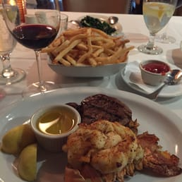 Sparkill Steakhouse - Sparkill, NY, United States. Surf/turf medium cooked