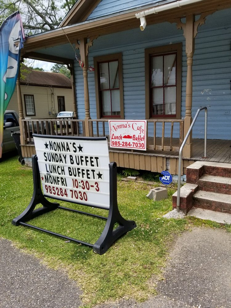 Nonna's Cafe: 309 NW Central Ave, Amite, LA