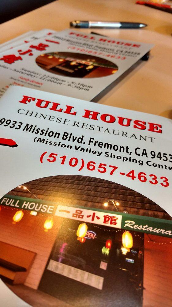 Chinese Restaurant Fremont Ca