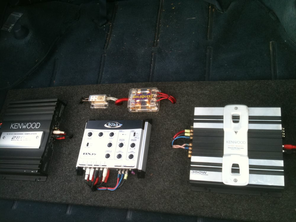 custom dual amplifier crossover install yelp rh yelp com An Electronic Subwoofer Crossover Wiring car audio crossover install