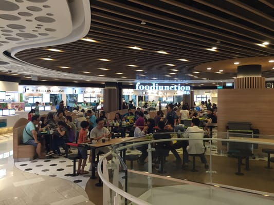 Raffles City Food Court Review