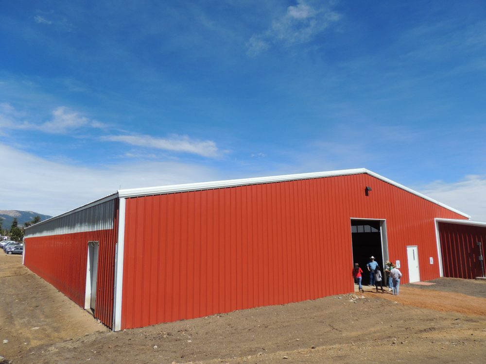 Metal Building Outlet supplied this Indoor Riding Arena for