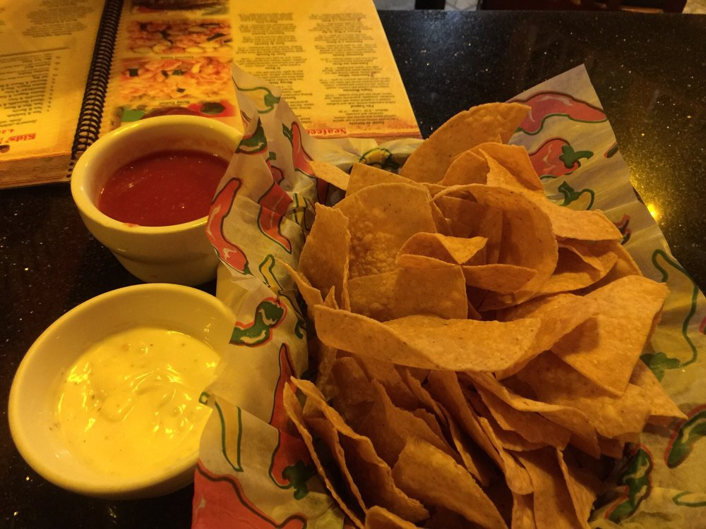 Food from El Arriero Mexican Restaurant