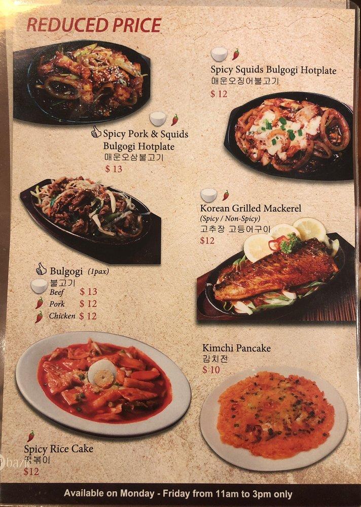 Hansik Korean Restaurant Singapore Sg