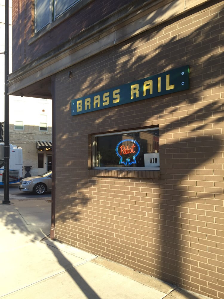 Brass Rail: 15 E University Ave, Champaign, IL