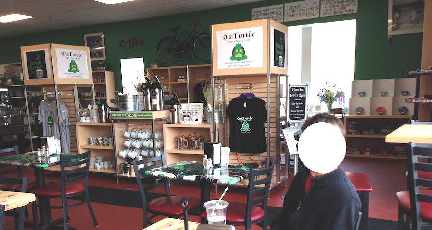 OmTurtleYoga & Cafe: 415 S Florissant Rd, Ferguson, MO