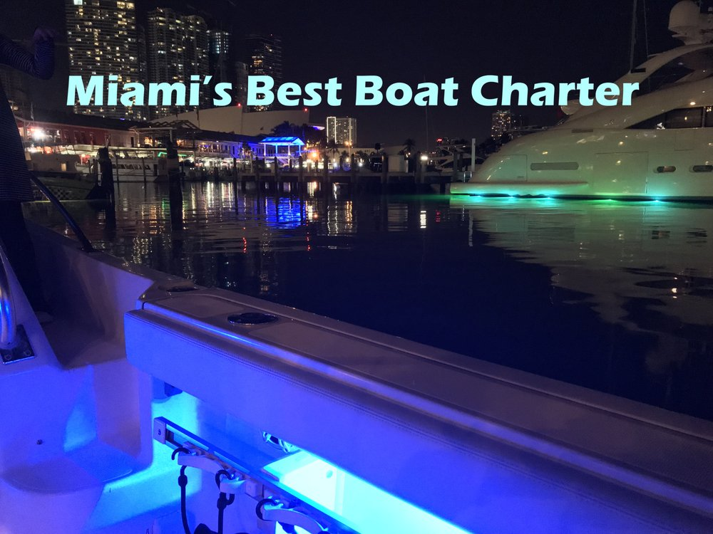 Miami's Best Boat Charter: 243 NW South River Dr, Miami, FL