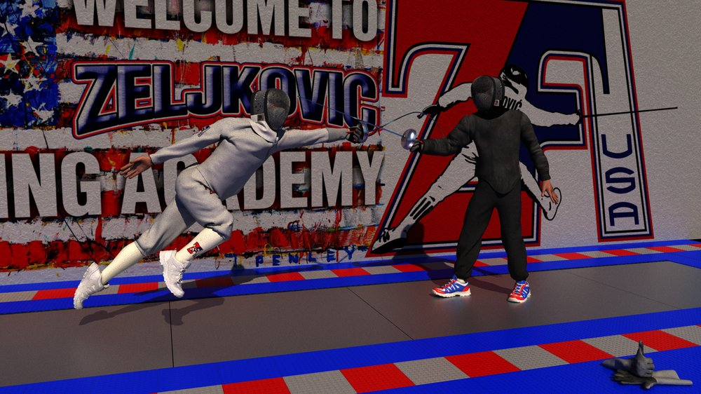 Zeljkovic Fencing Academy: 401 N Kings Hwy, Cherry Hill, NJ