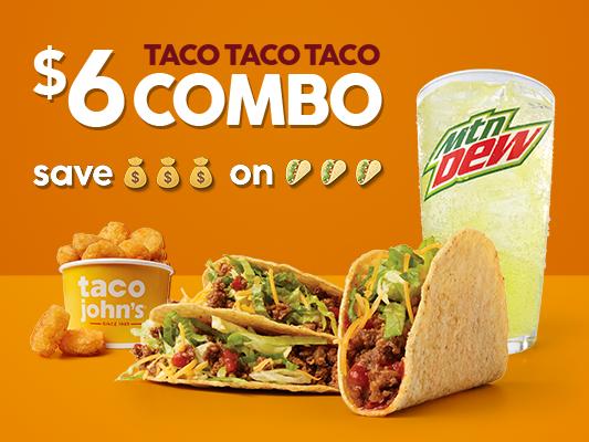 Taco John's: 1015 S Main St, Maryville, MO