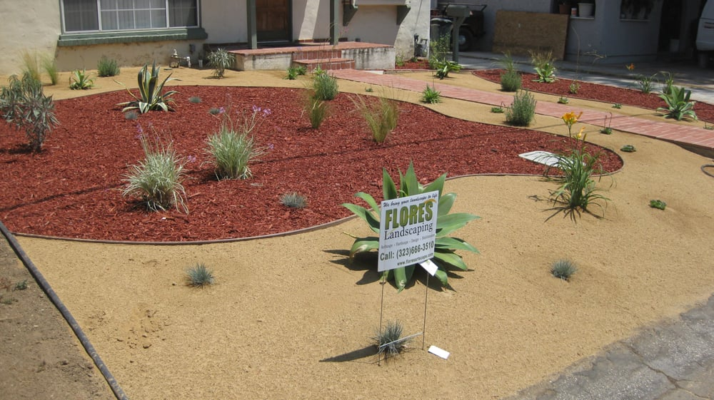Mulch Decomposed Granite amp California Natives Planting