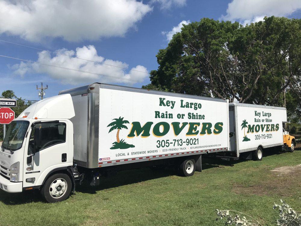 Key Largo Rain or Shine Movers