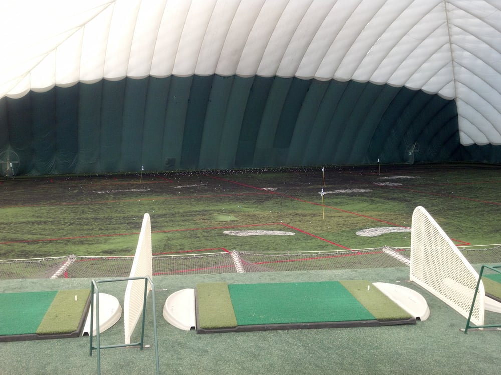 Second level of driving range - Yelp