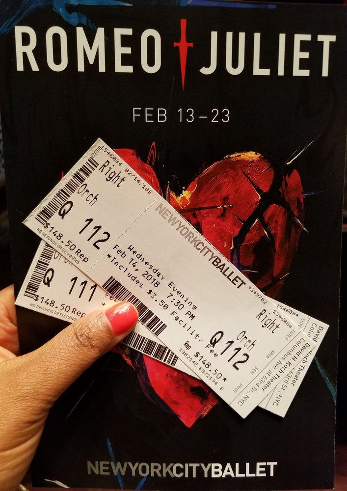 David H Koch Theater: 20 Lincoln Center Plz, New York, NY