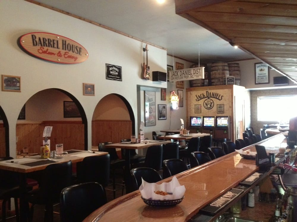 The Barrel House Saloon & Eatery: 124 E Oak St, Juneau, WI