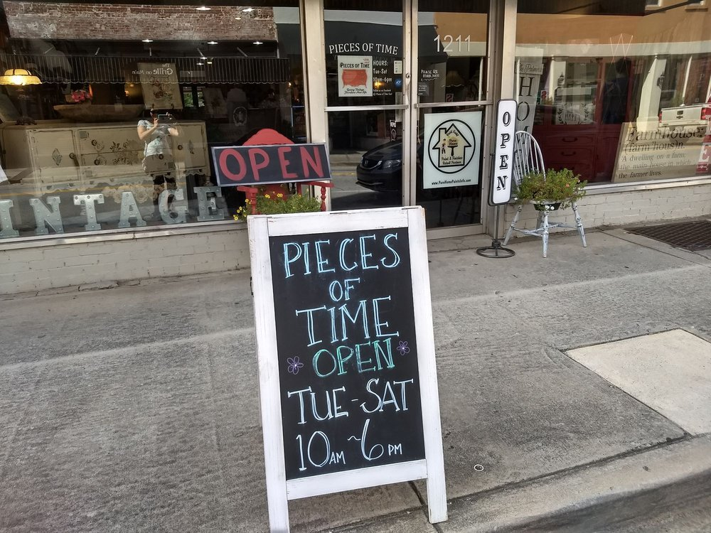 Pieces of Time East: 1211 Main St, Newberry, SC
