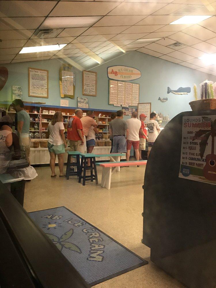 Ab Ice Cream & Candy Shoppe: 1010 W Fort Macon Rd, Atlantic Beach, NC