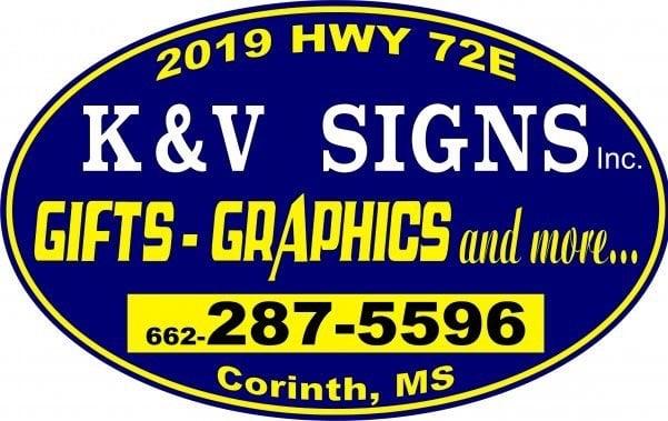 K & V Signs: 513 County Rd 512, Corinth, MS