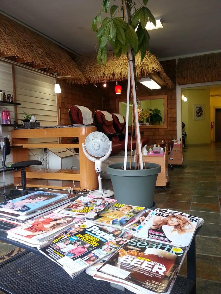 Tiki hut yelp for Salon seattle