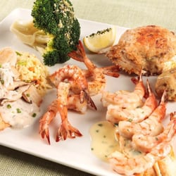 Photo Of Landry S Seafood House Orlando Fl United States Broiled Platter