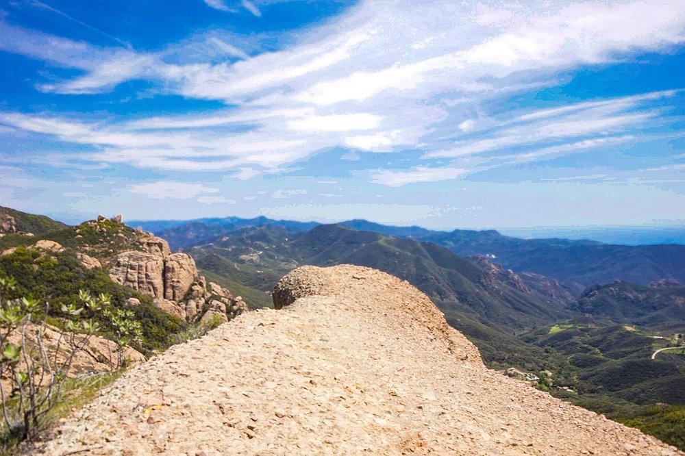 Mishe Mokwa Trail to Sandstone Peak