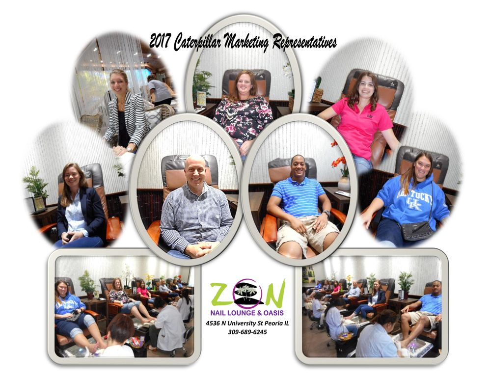 Zen Nail Lounge: 4536 N University, Peoria, IL