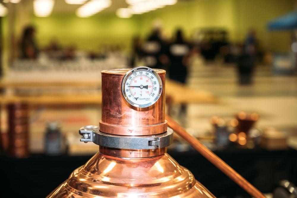 Justice Label Distillery: 523 E Sinton St, Sinton, TX