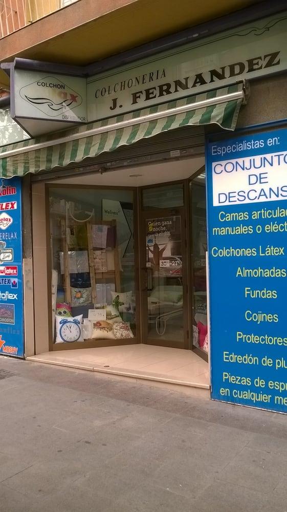 Centro Descanso J. Fernández   Colchonerías   Avenida de Novelda