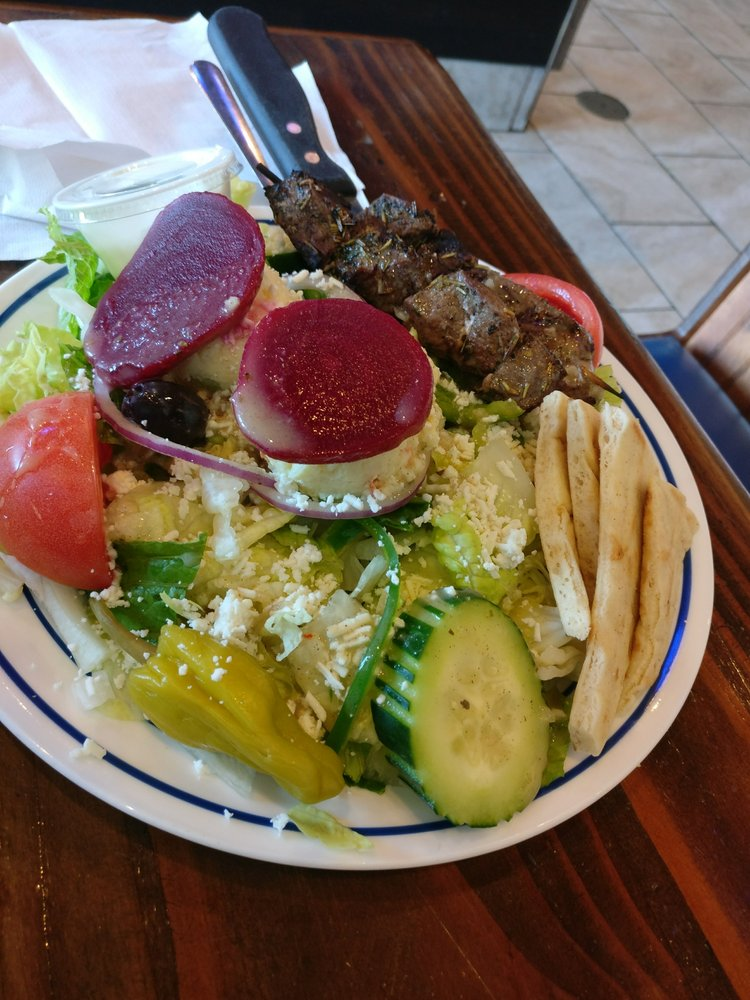 Little Greek Restaurant: 19022 Bruce B Downs Blvd, Tampa, FL