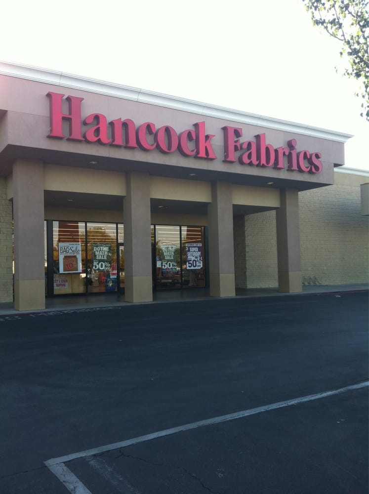 Hancock fabrics closed fabric stores 5179 n for Fabric outlet near me