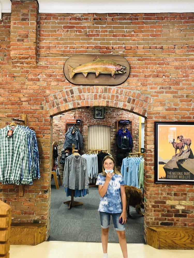 Bailey Dan Fly Shop Store: 209 W Park St, Livingston, MT