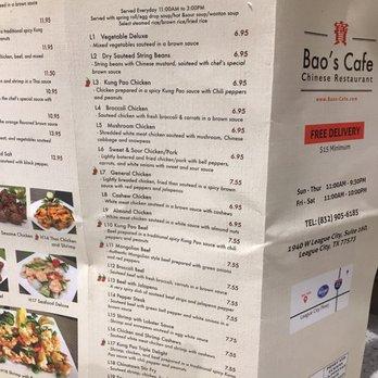 Bao S Cafe League City Tx