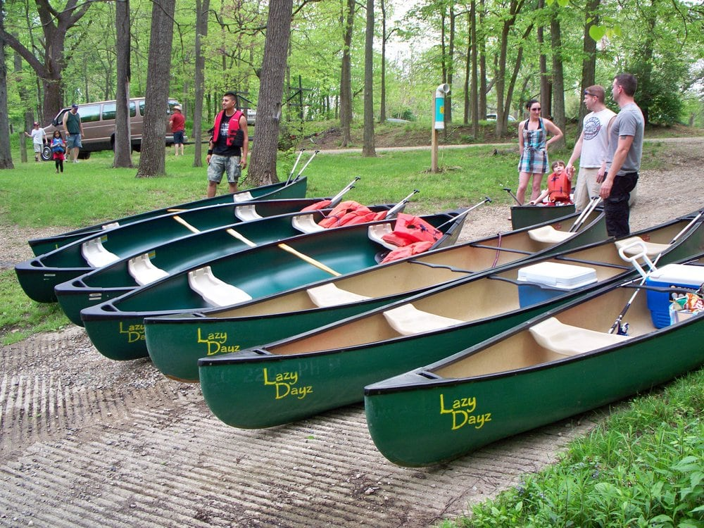 Aqua Bound Canoe & Kayak Rental: Hermance Park Apollo St, Bristol, IN