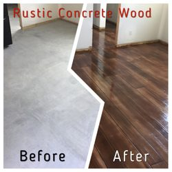 epoxy flooring house residential photo of harrisonburg epoxy flooring harrisonburg va united states rustic concrete wood get quote 36 photos masonry