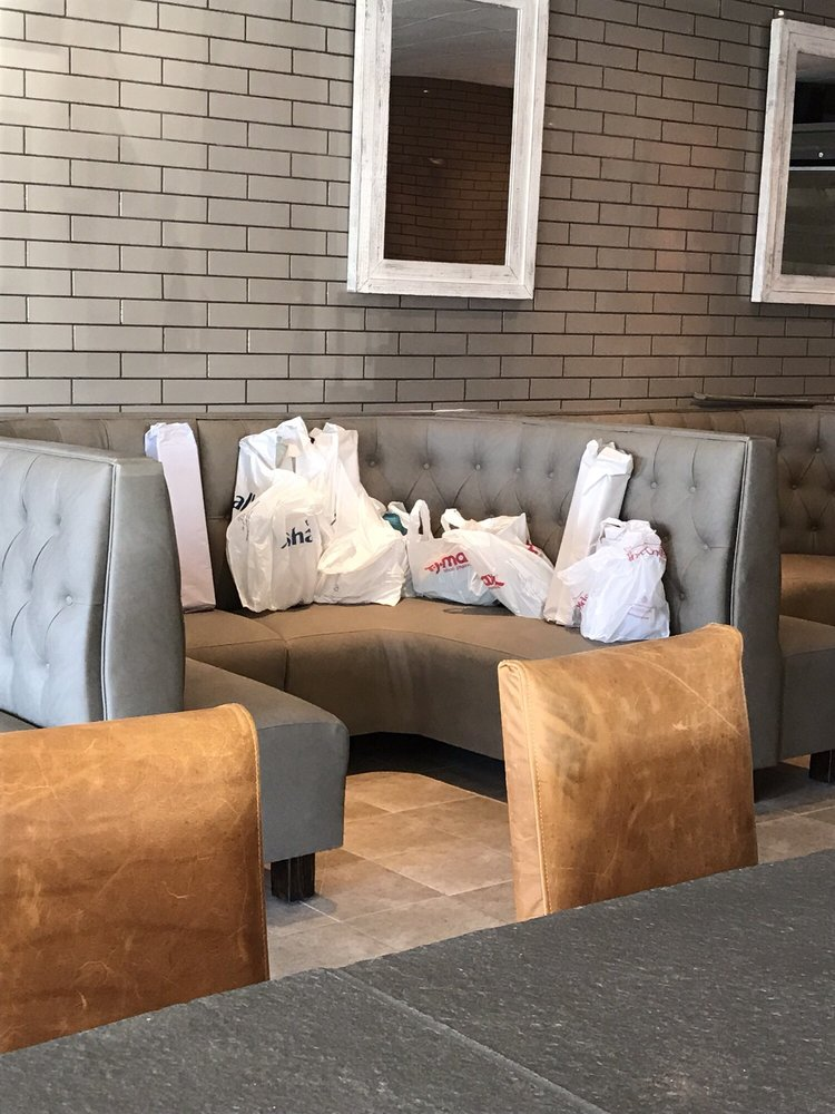 Photo Of Stax Burger Bar Roswell Ga United States Ping Bags Laying
