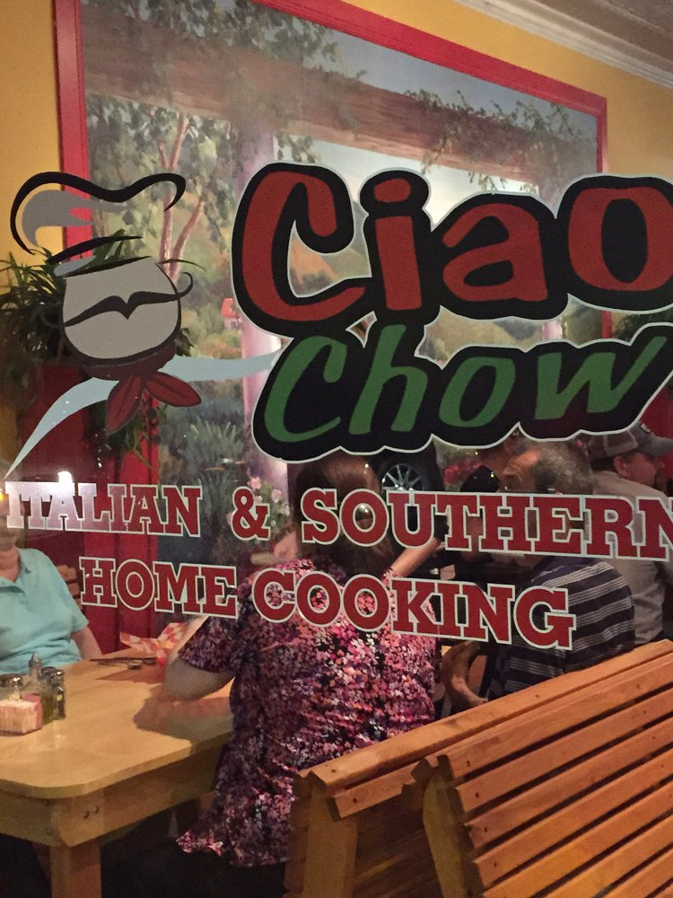 Ciao Chow: 100 E Bankhead St, New Albany, MS