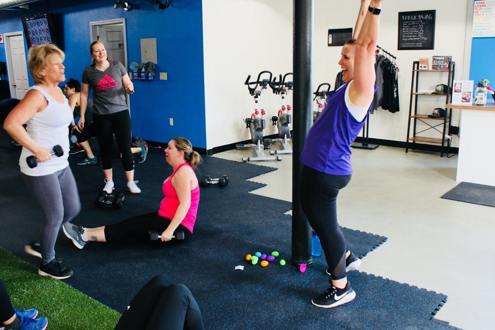 Social Spots from The Forge Fitness Studio