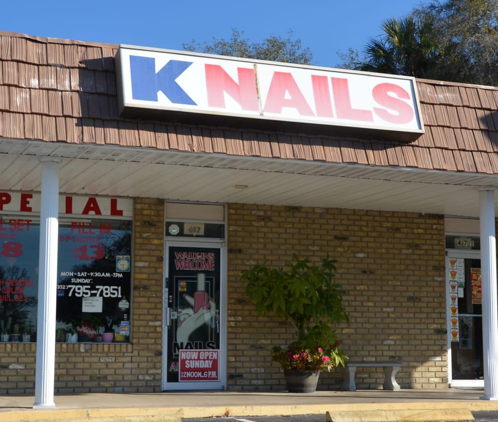 K Nails: 467 NE 1st Ter, Crystal River, FL