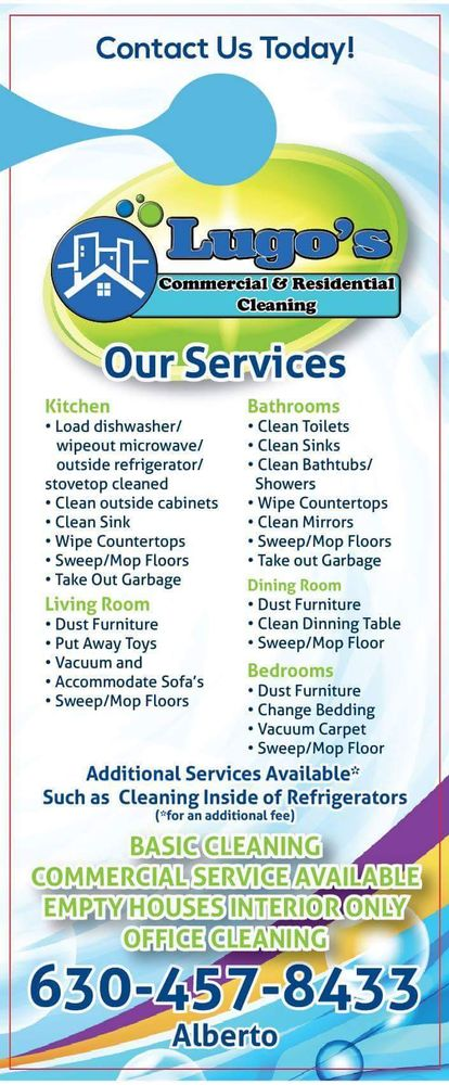 Lugos commercial and residential cleaning: Aurora, IL