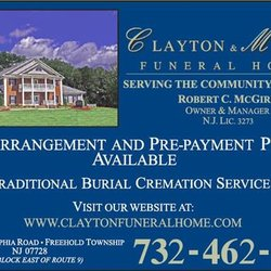 Clayton Mcgirr Funeral Home Funeral Services Cemeteries 100