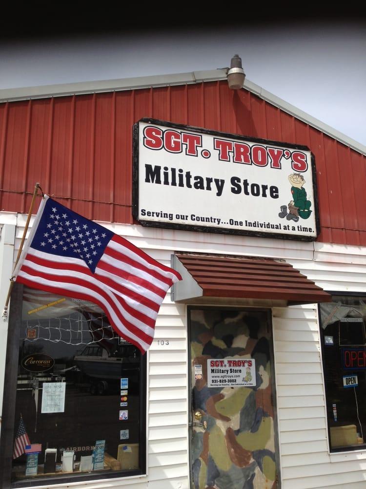Sgt Troy's Military Store: 2506 Hwy 43 N, Lawrenceburg, TN
