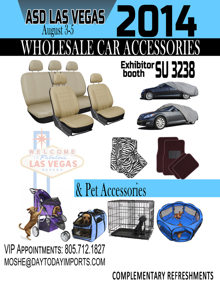 Wholesale Car Accessories Wholesale ASD Trade Show Las Vages - Yelp