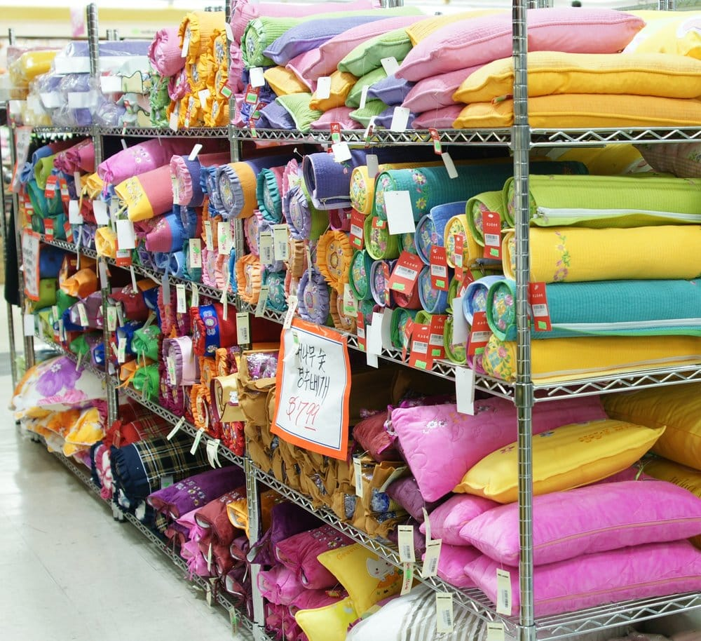 Traditional Korean Pillow : Wide selection of traditional Korean neck pillows in vibrant colors and various sizes... - Yelp